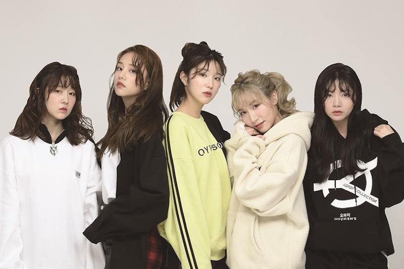 韓国発5人組ガールズグループ 『LABOUM』(ラブーム)とアパレルブランド「FUGA」とのコラボ