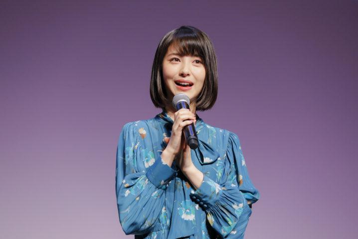 浜辺美波・メニコン新商品「Four Seasons」発表会にて(2018.10.31)