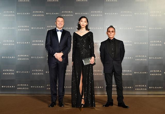 杏/「BVLGARI AVRORA AWARDS 2018 / ブルガリ アウローラ アワード」授賞式及びゴールデンカーペットセレモニー(2018年12月12日)