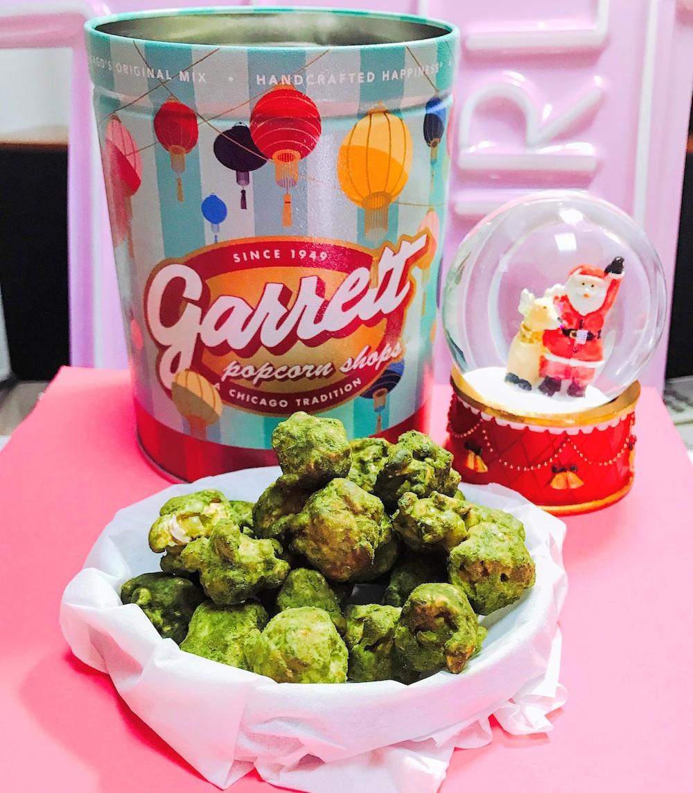 2019年の干支「イノシシ」をあしらったデザイン缶「Garrett 2019 ETO缶」に入った、日本限定の新フレーバー「抹茶トリュフ キャラメルクリスプ (TM)」/撮影:PRINCESS ONLINE編集部