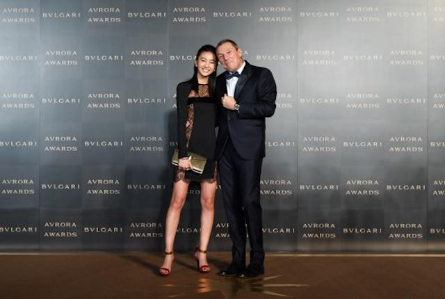 Kōki,/「BVLGARI AVRORA AWARDS 2018 / ブルガリ アウローラ アワード」授賞式及びゴールデンカーペットセレモニー(2018年12月12日)