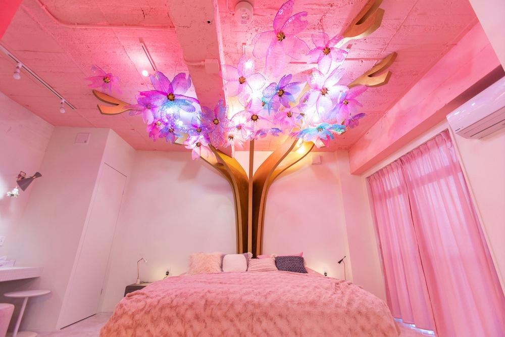 ベッドルーム/MOSHI MOSHI ROOMS「SAKURA」