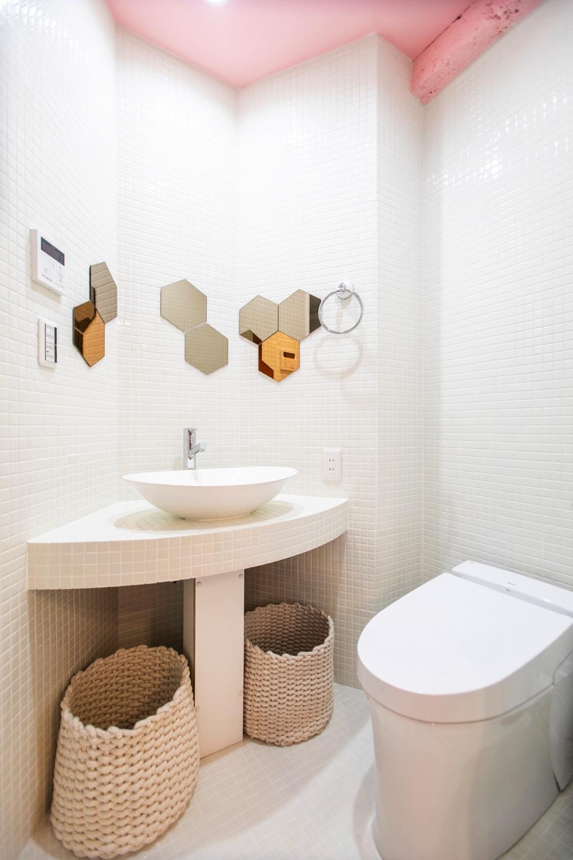 シャワールーム/MOSHI MOSHI ROOMS「SAKURA」