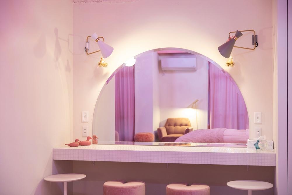 パウダールーム/MOSHI MOSHI ROOMS「SAKURA」