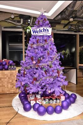 「Welch's 」presents 「ポリフェノールのある生活」〜「ウェルチ」カラーでクリスマスパーティー〜にて(2018年12月18日)