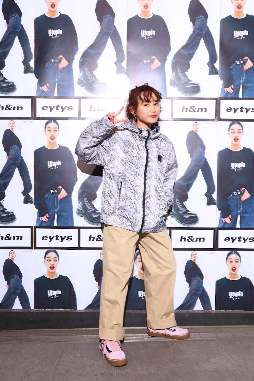高橋愛/ストックホルムのファッションブランド「Eytys(エイティーズ)」とH&Mのコラボ「Eytys x H&M」