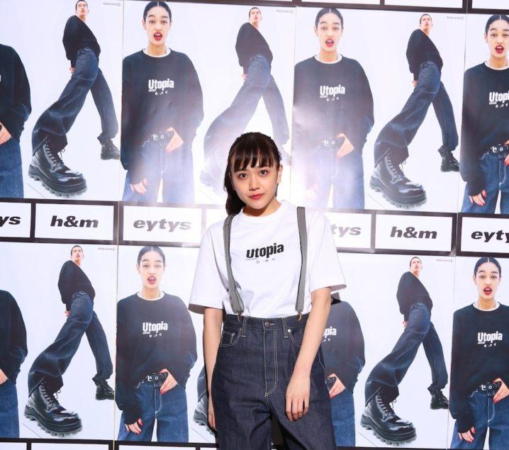 松井愛莉/ストックホルムのファッションブランド「Eytys(エイティーズ)」とH&Mのコラボ「Eytys x H&M」