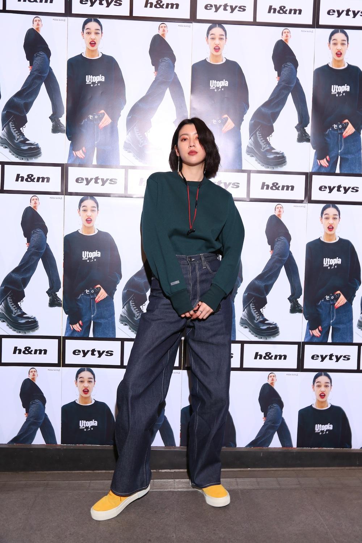 三吉彩花/ストックホルムのファッションブランド「Eytys(エイティーズ)」とH&Mのコラボ「Eytys x H&M」