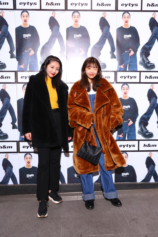 「Eytys x H&M」(ストックホルムのファッションブランド「Eytys(エイティーズ)」とH&Mのコラボ)