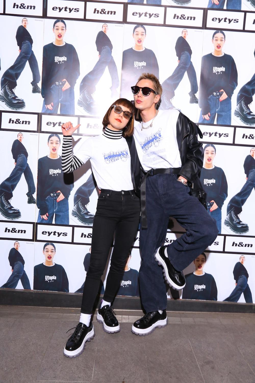 長澤メイ & 岩崎拓馬/ストックホルムのファッションブランド「Eytys(エイティーズ)」とH&Mのコラボ「Eytys x H&M」
