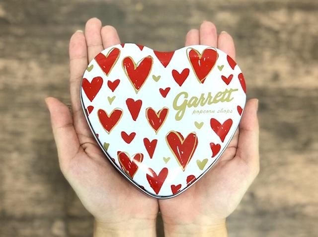 ギャレット ポップコーン ショップス®の新フレーバー「バレンタインMIX」