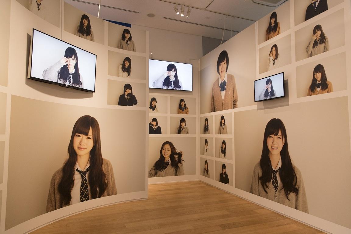 乃木坂46 Artworks だいたいぜんぶ展 展示