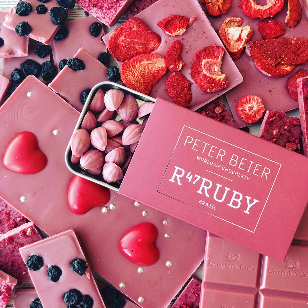 """ルビーチョコレートを使用した「MEGAB""""I""""TES OF CHOCOLATE」(PLAZAバレンタイン)"""