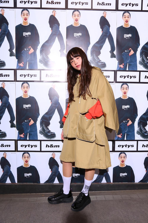 モトーラ世理奈/ストックホルムのファッションブランド「Eytys(エイティーズ)」とH&Mのコラボ「Eytys x H&M」