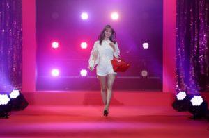 八木アリサ/『Samantha Thavasa 25周年キック・オフプレ発表会』イベントにて(2019年2月4日、渋谷ヒカリエホールA)