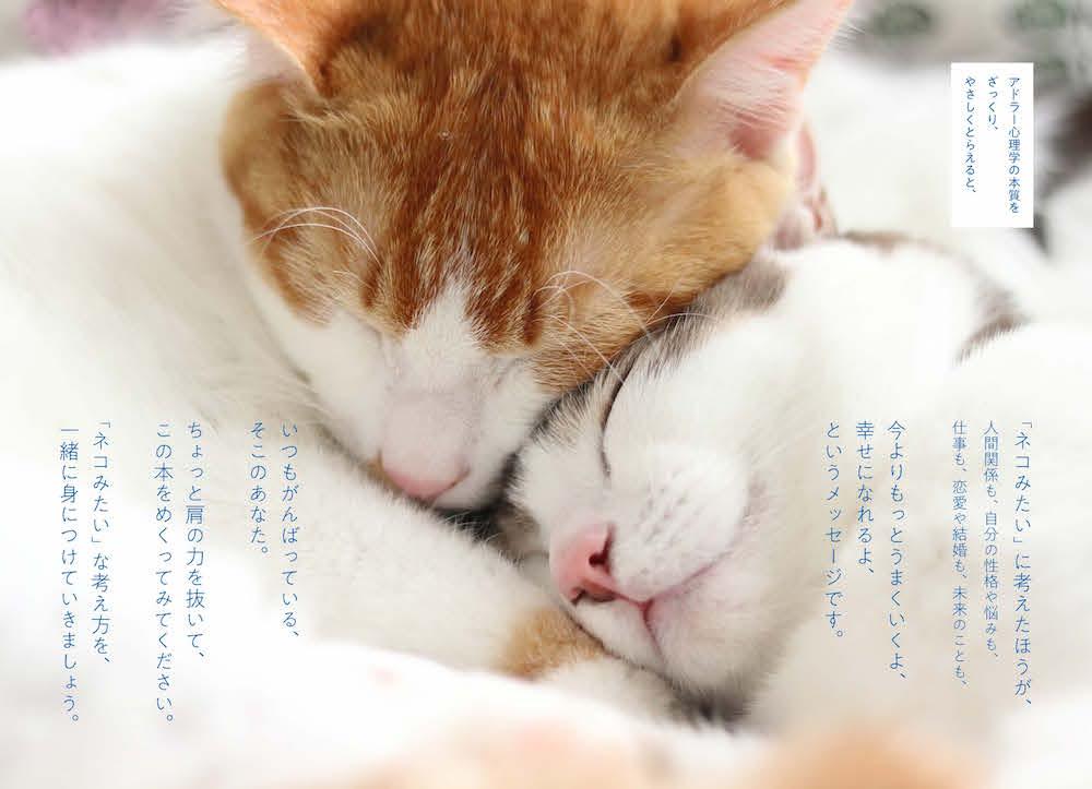 猫(ネコ)/『ニャンと簡単に身につく! 心が休まる「アドラー心理学」』 より