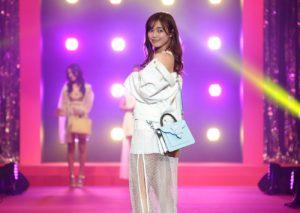 E-girls/『Samantha Thavasa 25周年キック・オフプレ発表会』イベントにて(2019年2月4日、渋谷ヒカリエホールA)