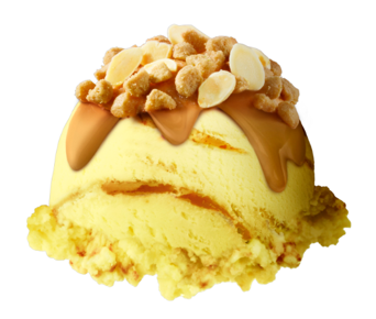 ハーゲンダッツ・Decorations(デコレーションズ)『アーモンドキャラメルクッキー』