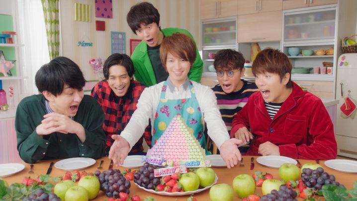 関ジャニ∞出演の「ハイチュウ」新CMでハイチュウタワー登場❤️