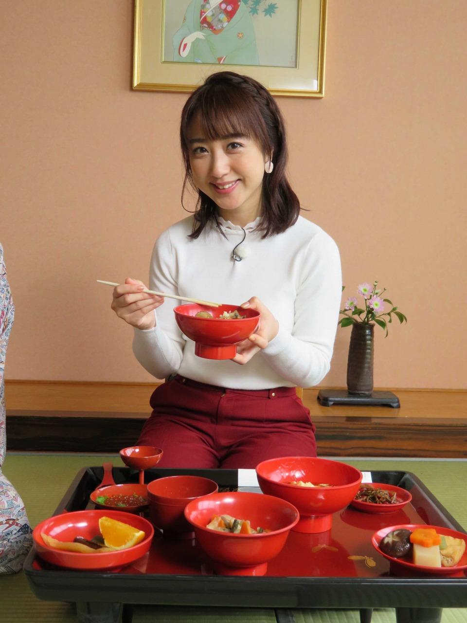 川田裕美(かわた ひろみ)、松前藩の祝膳「藩主料理」を堪能