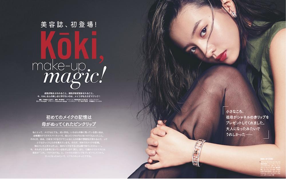Koki, makeup