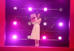 白石麻衣(乃木坂46)/『Samantha Thavasa 25周年キック・オフプレ発表会』イベントにて(2019年2月4日、渋谷ヒカリエホールA)