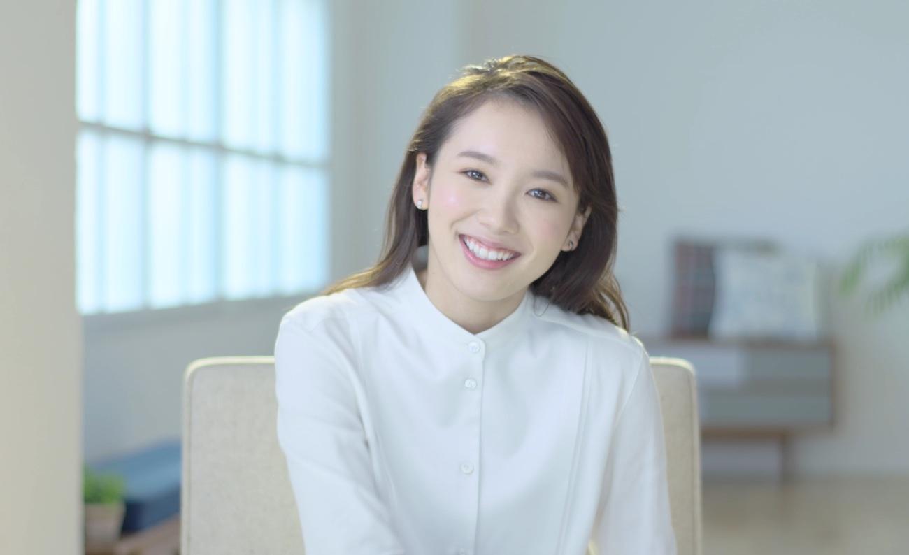 飯豊まりえ/メイク動画にてインタビュー
