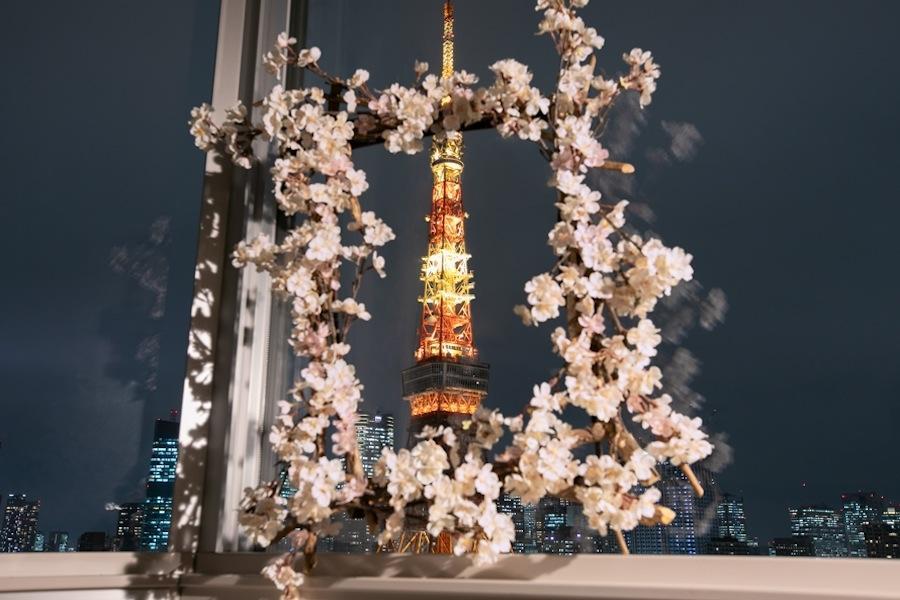 桜フォトフレーム/「ザ・プリンス パークタワー東京」