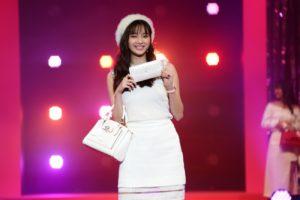 新川優愛/『Samantha Thavasa 25周年キック・オフプレ発表会』イベントにて(2019年2月4日、渋谷ヒカリエホールA)