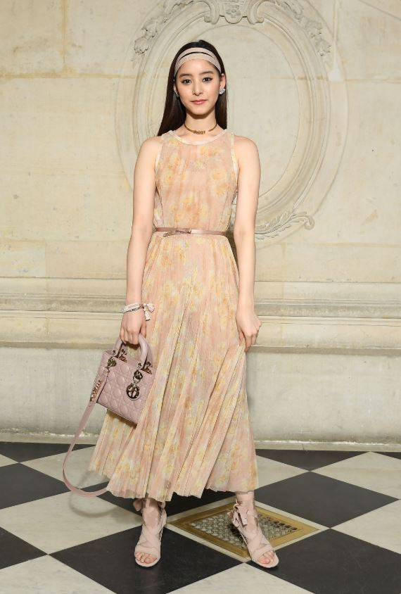新木優子/DIOR AUTUMN-WINTER 2019-2020 FASHION SHOW