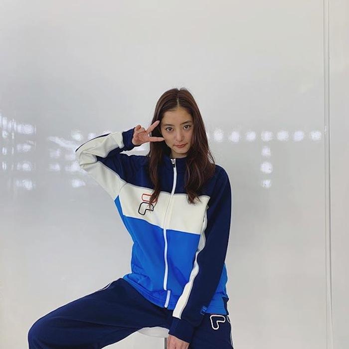 新木優子/FILAのイメージキャラクター