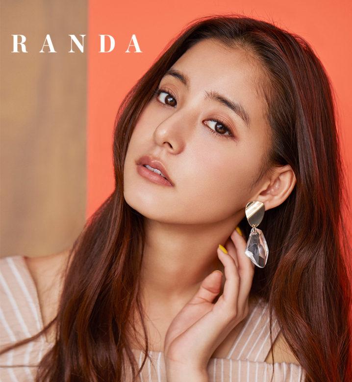 新木優子/RANDA(ランダ)2019春夏ヴィジュアルモデル