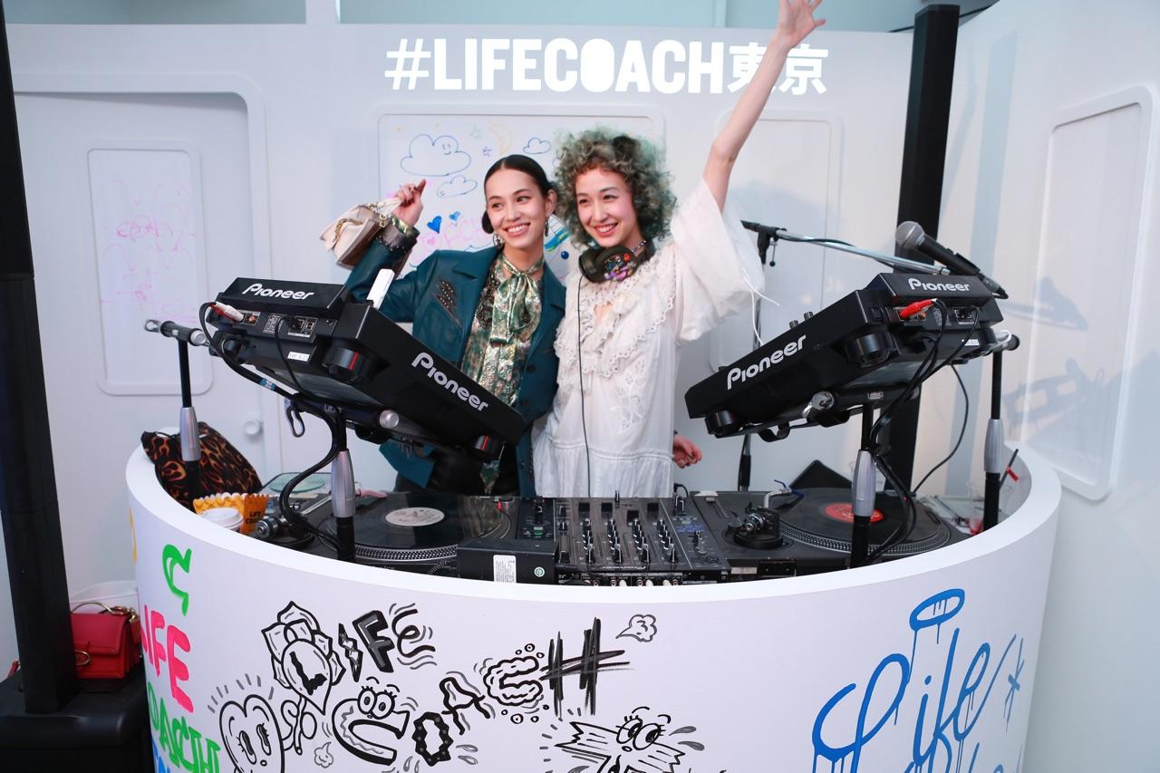 水原希子・佑果/ #LifeCoach東京(Coach(コーチ)