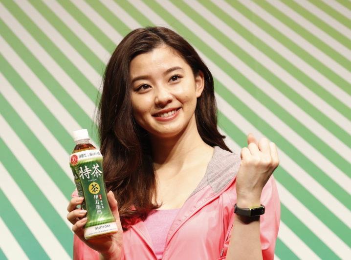 朝比奈彩/『特茶 2019 戦略発表会』(2019年3月27日(水)、EBIS303にて)