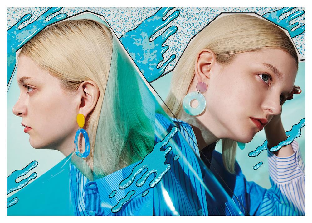 BLUE BY LAFORET(ラフォーレ原宿館内約70店舗で「BLUE」(青)をテーマにしたアイテムを展開)