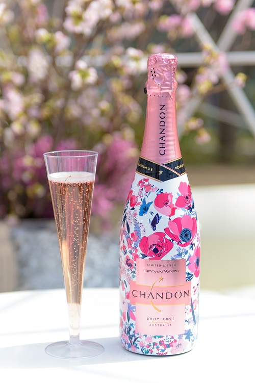 「CHANDON Blossom Lounge」in 東京ミッドタウン