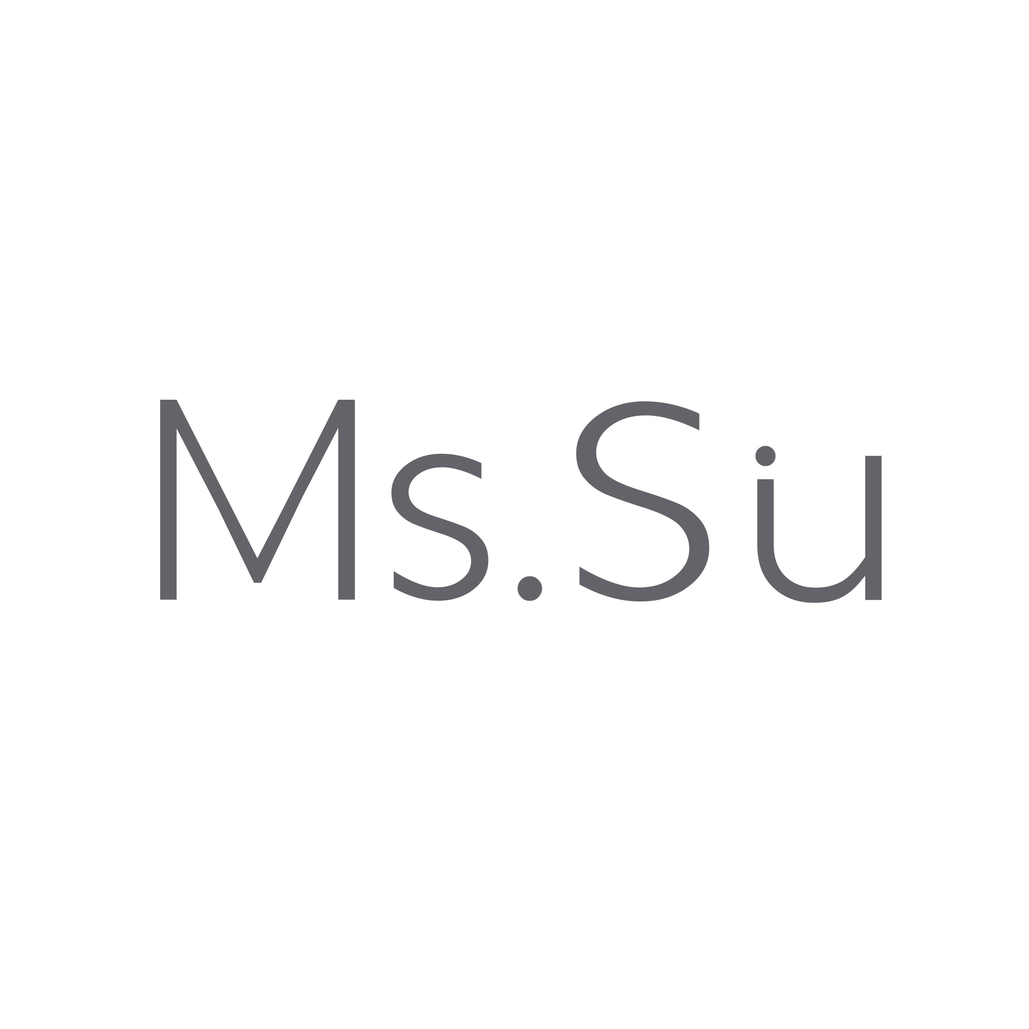 Ms.Su(ミス・スー)のロゴ