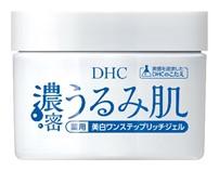 「DHC濃密うるみ肌シリーズ」から1塗りで6役6機能の『薬用美白ワンステップリッチジェル』