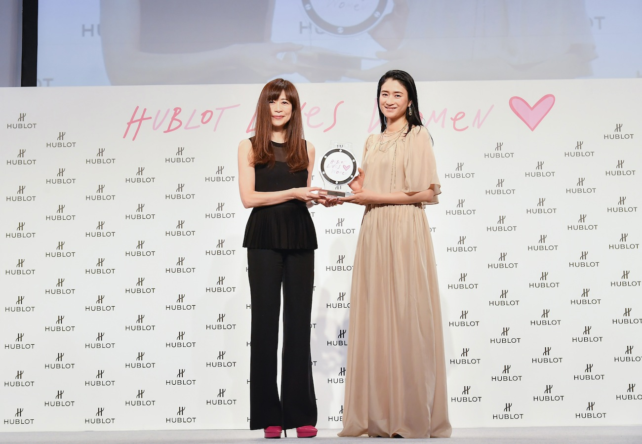 小雪/「HUBLOT LOVES WOMEN AWARD 2019」