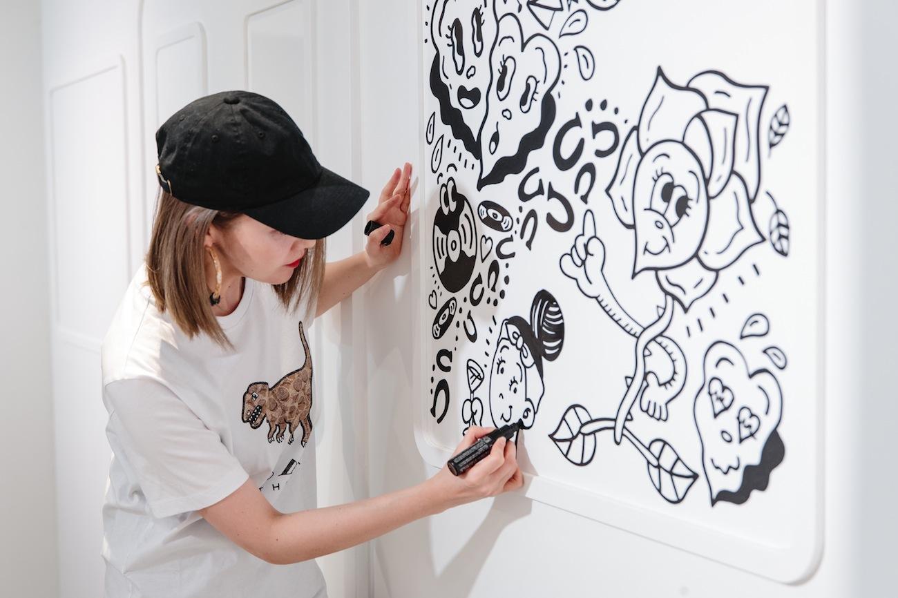 """【COACH(コーチ)】インタラクティブなポップアップイベント""""LIFE COACH 東京"""" ART"""