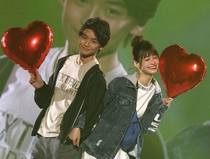 生見愛瑠(めるる)と高橋文哉/神戸コレクション 2019SS・Popteen stage(2019年3月3日)