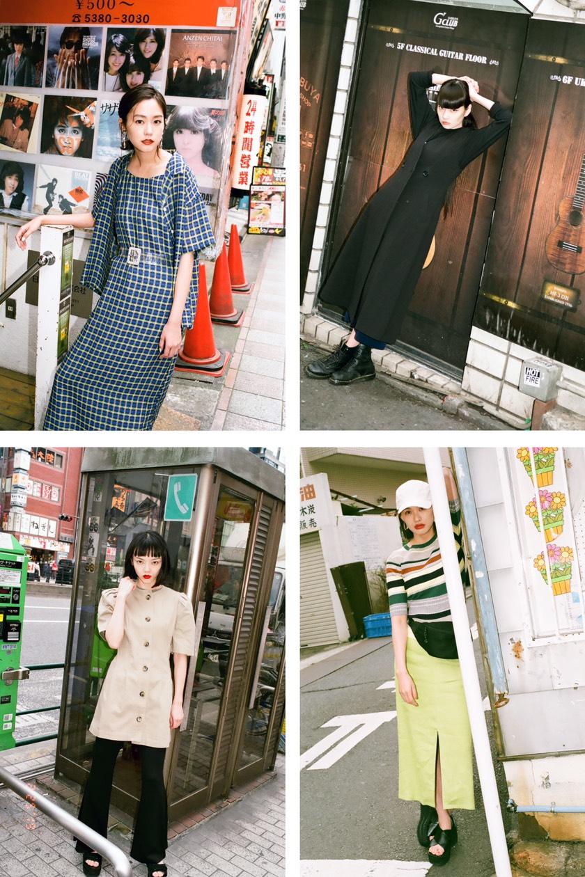 秋元梢、臼田あさ美、桐谷美玲、福島リラ/東京を拠点に活躍する女優、モデルと共に、現在のリアルなファッションと個性的な東京の街並みを切り取った写真集『SLY TOKYO 2019 APRIL/MAY』