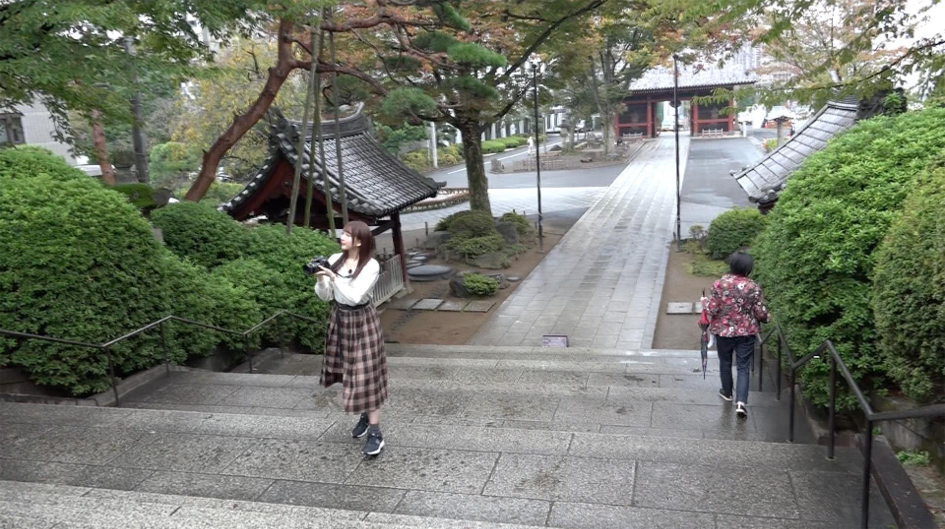 高柳知葉/「声優カメラ旅」#10