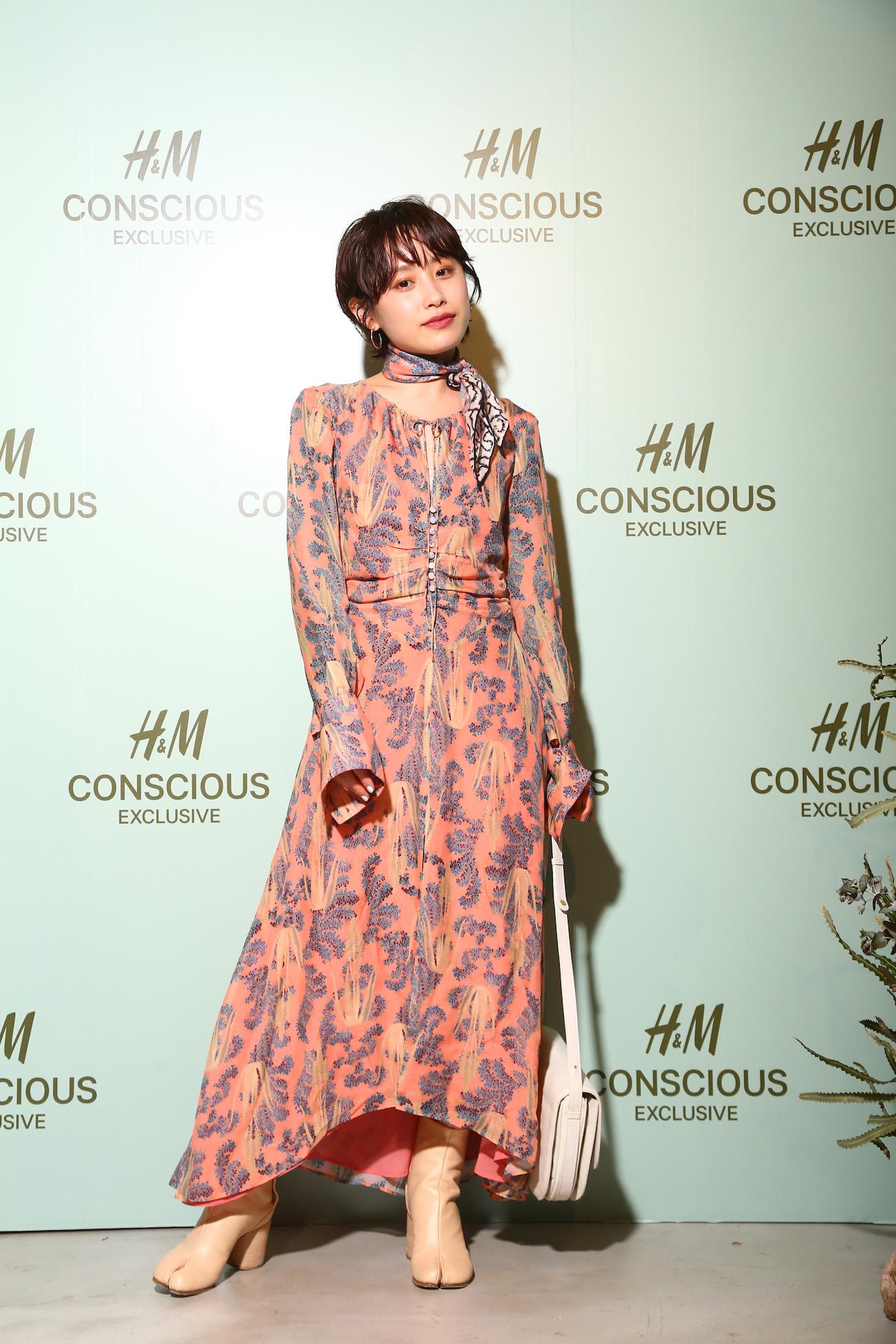 高橋愛/H&M CONSCIOUS EXCLUSIVE(コンシャス・エクスクルーシヴ)のお披露目イベント(2019年4月5日)
