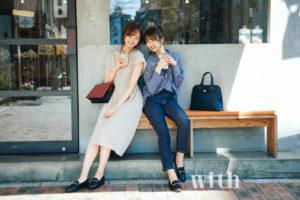 梅澤美波(乃木坂46)&小林由依(欅坂OL)/乃木坂OLプロジェクト(with 2019年6月号)