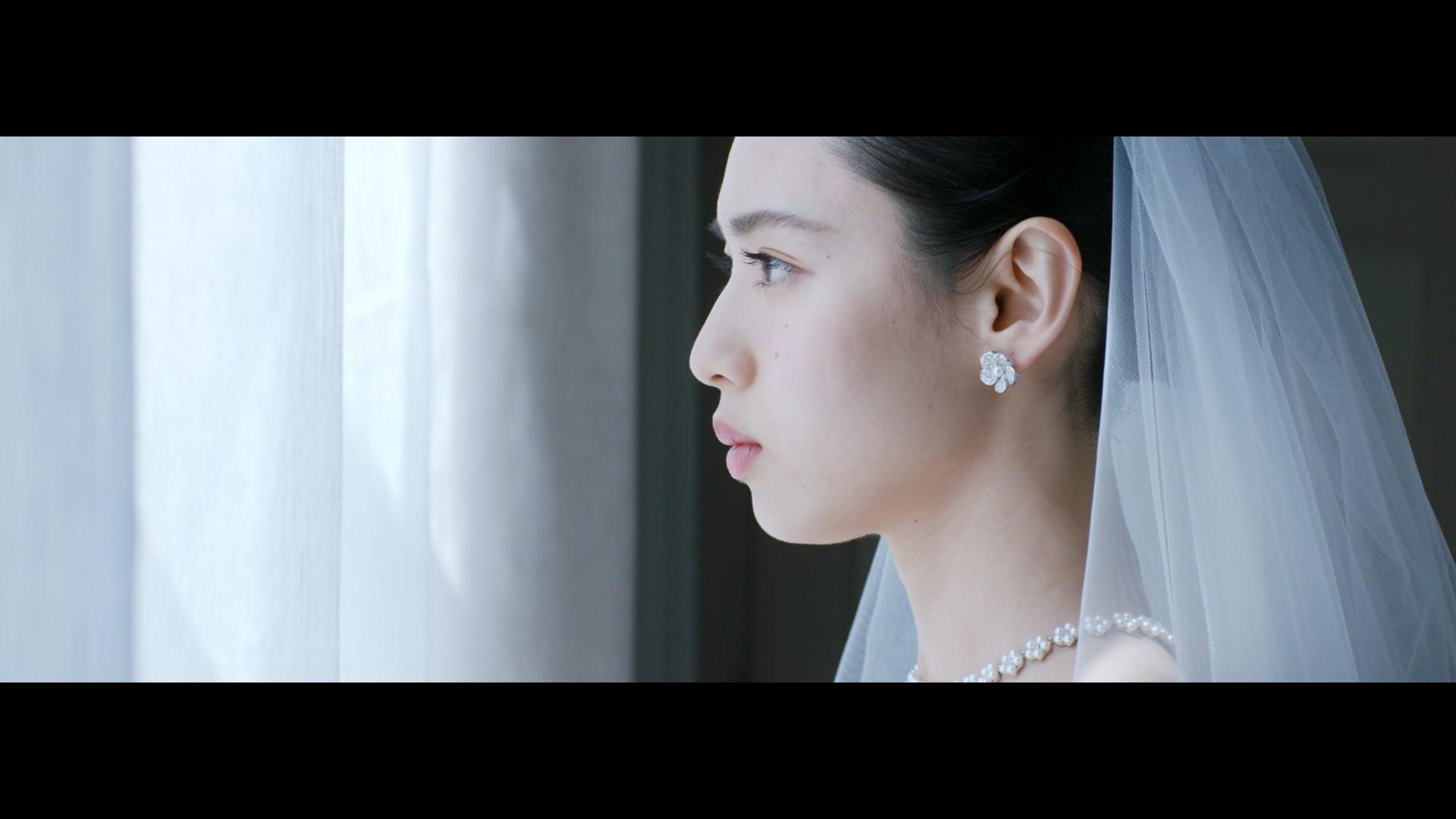 白石聖(ゼクシィ12代目CMガール)/ゼクシィCM「花嫁の歌」篇・wedding dress model actress