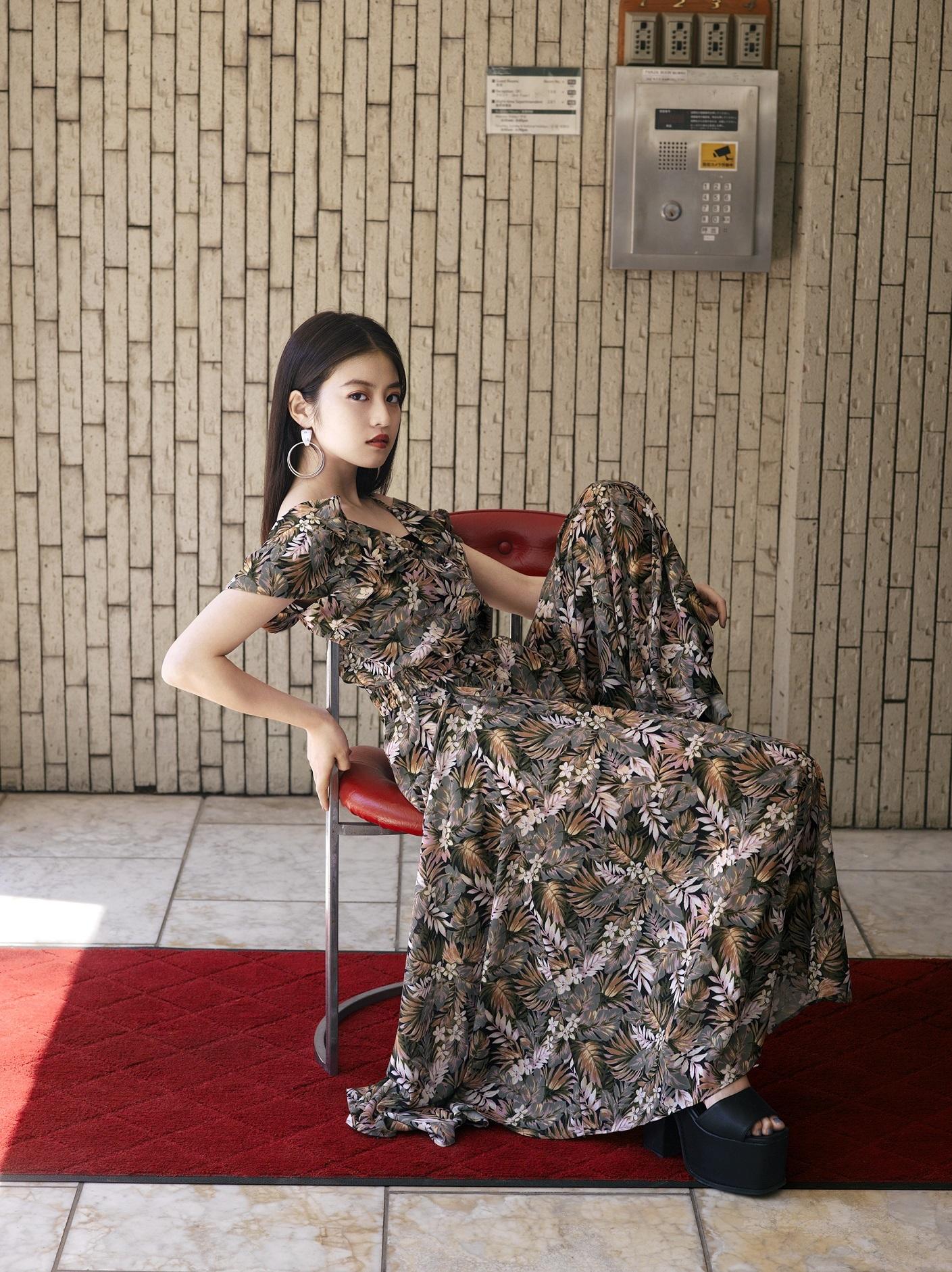今田美桜/EMODA 2019summer WEBカタログ