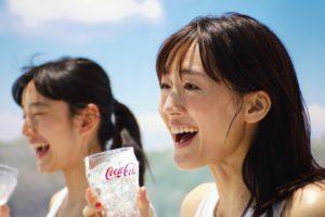 綾瀬はるか/「コカ・コーラ クリアライム」CM