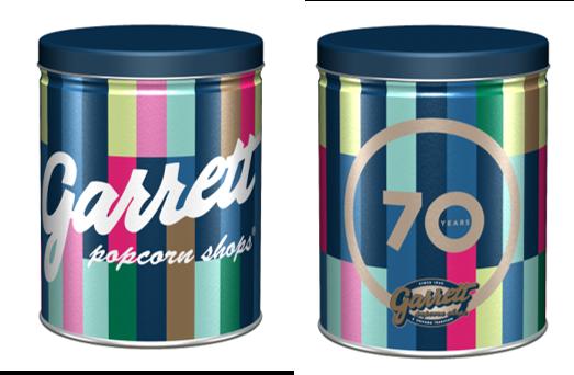 ギャレット ポップコーン ショップス®70周年記念!『70th Anniversary 缶』