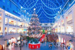 サッポロファクトリー ジャンボクリスマスツリー/2019年11月26日、撮影:PRINCESS ONLINE事業部